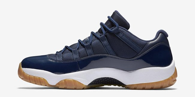 Navy Gum Jordan 11 Low