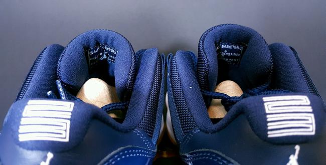Navy Gum Jordan 11 Low Release
