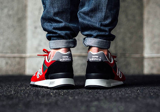New Balance 577 Made in England Red Black