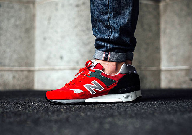 New Balance 577 Made in England Red Black 12e82fe66826