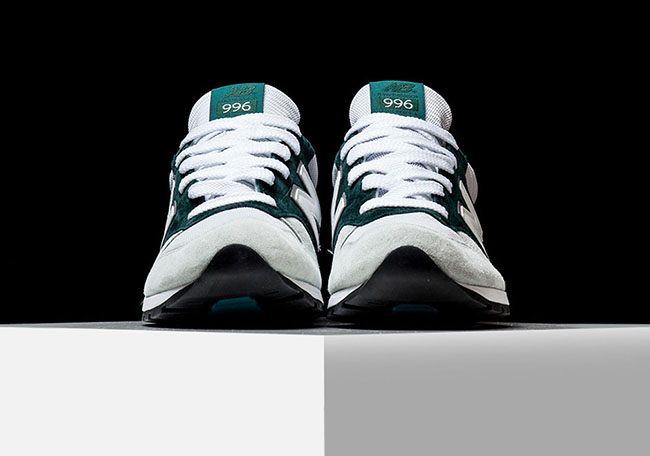 New Balance 996 Explore by Air White Emerald