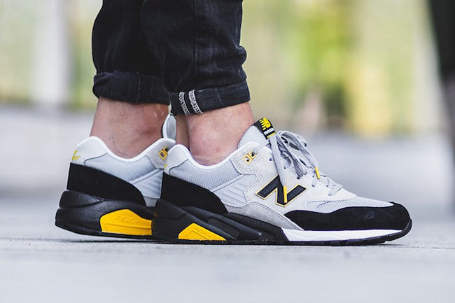 New Balance MRT580 LS Grey Black