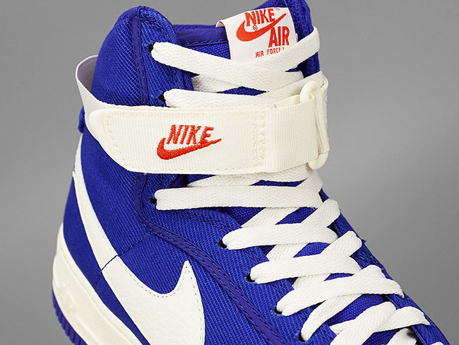 Nike Air Force 1 High Canvas Dark Concord