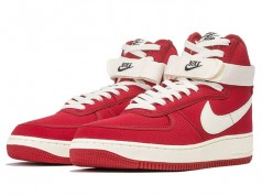Nike Air Force 1 High Canvas Gym Red