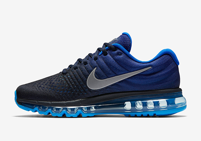 nike air max 2017 dames donkerblauw