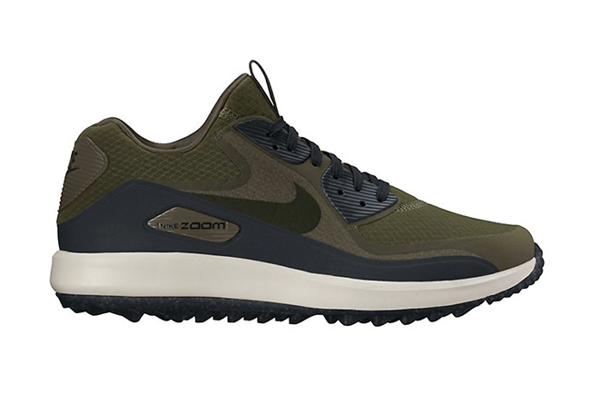 Nike Air Max 90 Golf Shoe Olive Navy