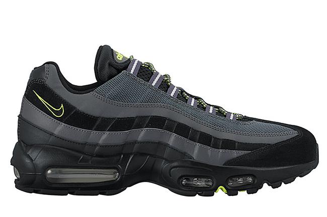 Nike Air Max 95 Dark Grey Black Volt