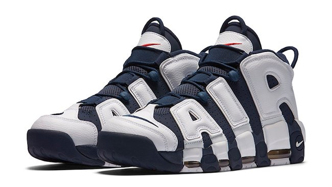 Nike Air More Uptempo Olympic Retro Release
