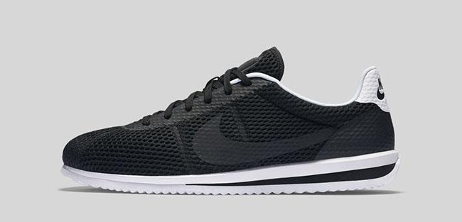 Nike Cortez Ultra Breathe Black White