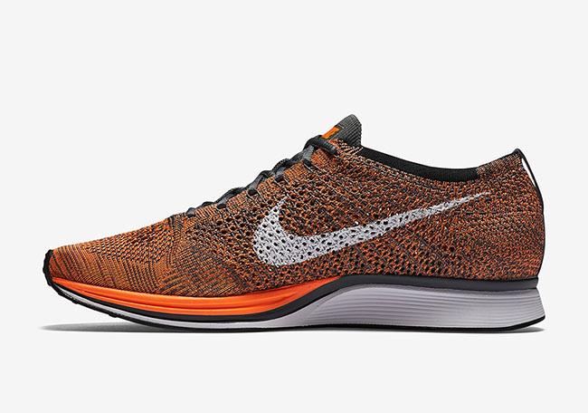Nike Flyknit Racer Total Orange