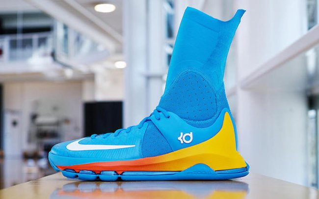 new product b0086 4fb1d hot sale 2017 The Nike KD 8 Elite Powder Blue is Another Kevin Durant PE