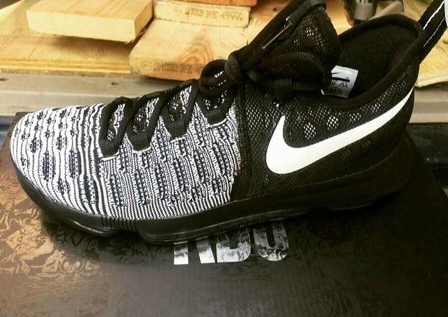 Nike KD 9 Black White