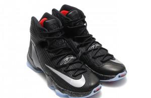 Nike LeBron 13 Elite Black Reflect Silver Red
