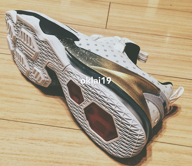 Nike LeBron 13 Low Olympic Gold Medal