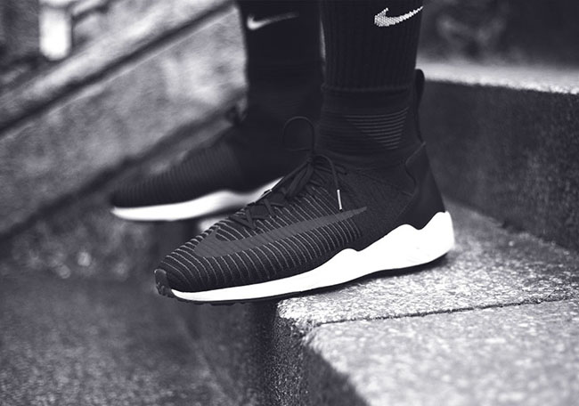 Nike Zoom Mercurial Flyknit Spiridon Black White