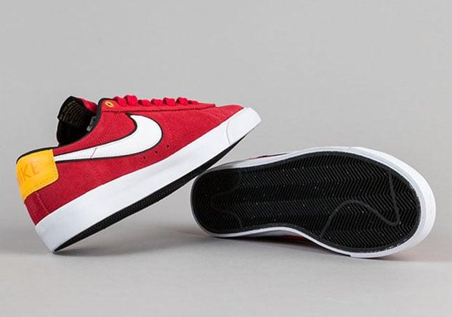 Nike SB Blazer Low GT University Red