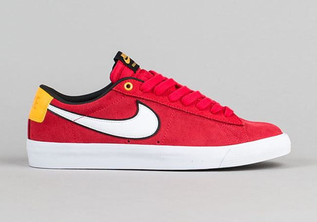 the best attitude c8e5f 10da8 Nike SB Blazer Low GT University Red