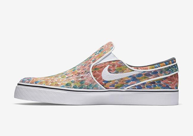 Nike SB Stefan Janoski Slip-On Water Color