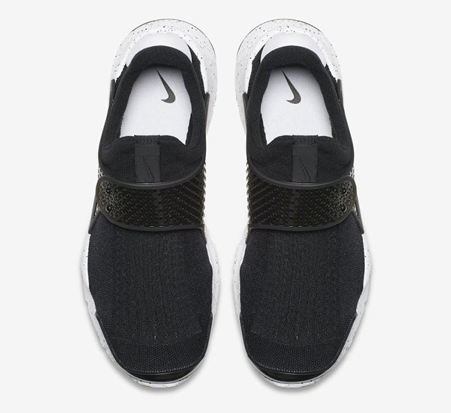 Nike Sock Dart Black White