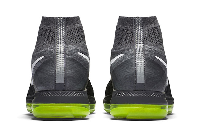 Nike Zoom All Out Flyknit Black Grey Pink Volt