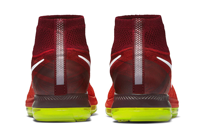 Nike Zoom All Out Flyknit Crimson Volt