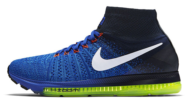 Nike Zoom All Out Flyknit Racer Blue