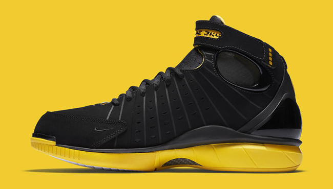 Nike Zoom Huarache 2K4 Black Varsity Maize Retro