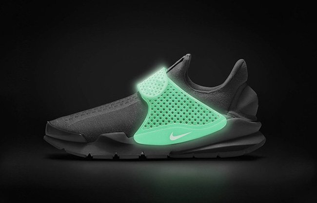 NikeID Sock Dart Glow in the Dark