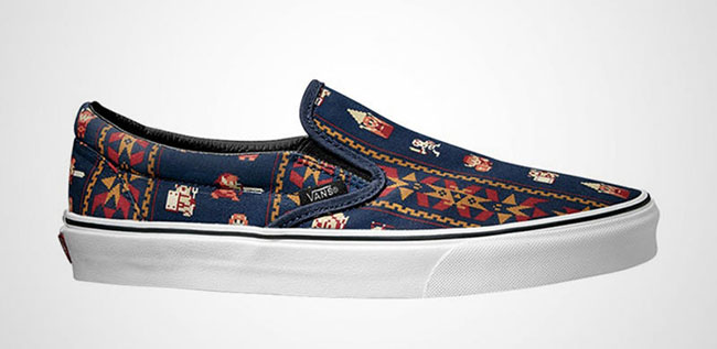 Nintendo Vans Collection