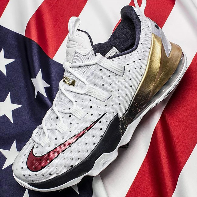Olympic LeBron 13 Gold Medal