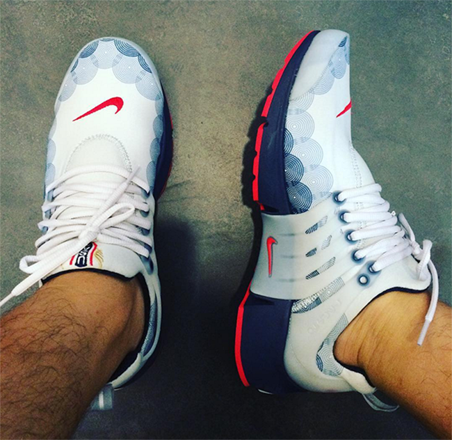 Nike Air Presto Olympic On Feet