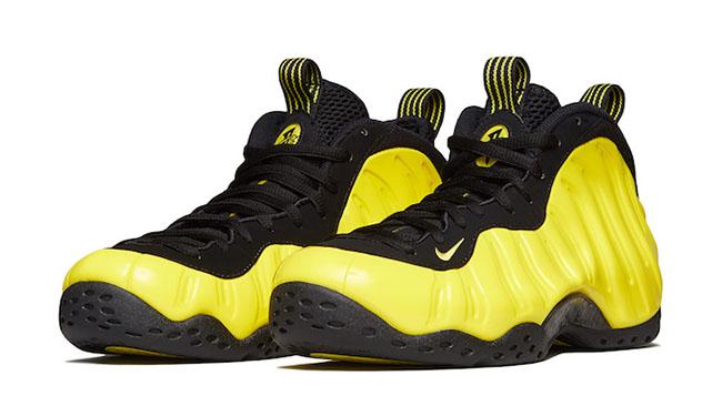 Optic Yellow Nike Foamposite One Release