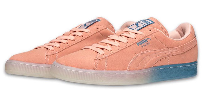 Pink Dolphin Puma Suede Classic