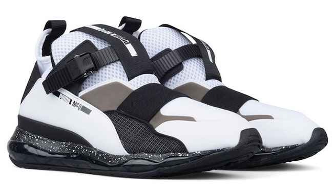 Puma MCQ Cell Mid White Black  f4a65b6a5
