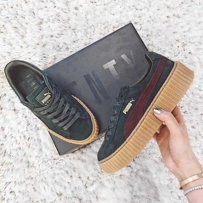 Rihanna Puma Creepers May 2016 Colors