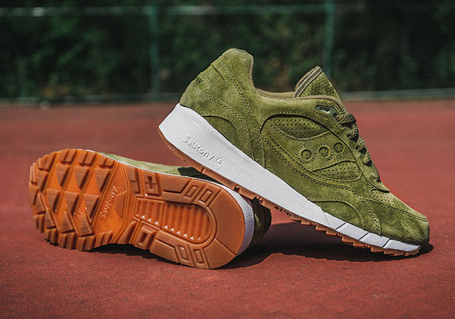 Saucony Shadow 6000 Olive SuedeSaucony Shadow 6000 Olive Suede
