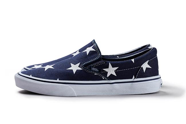 SOPHNET Vans Slip-On Indigo Star Classic