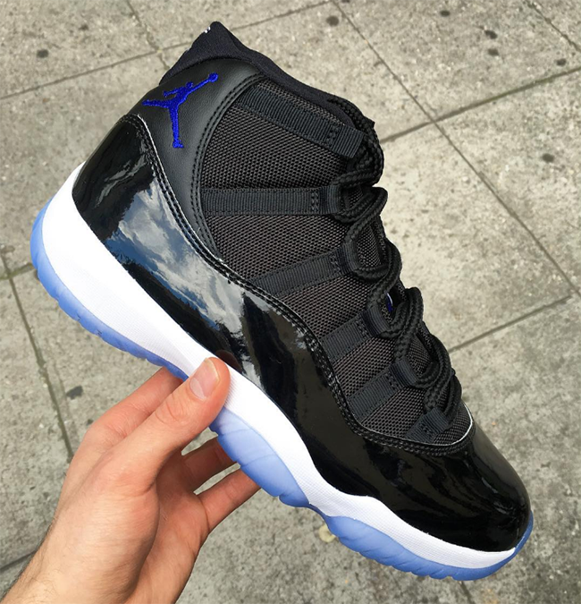 cheap for discount 9e368 5b2c7 Space Jam Jordan 11 2016 Release