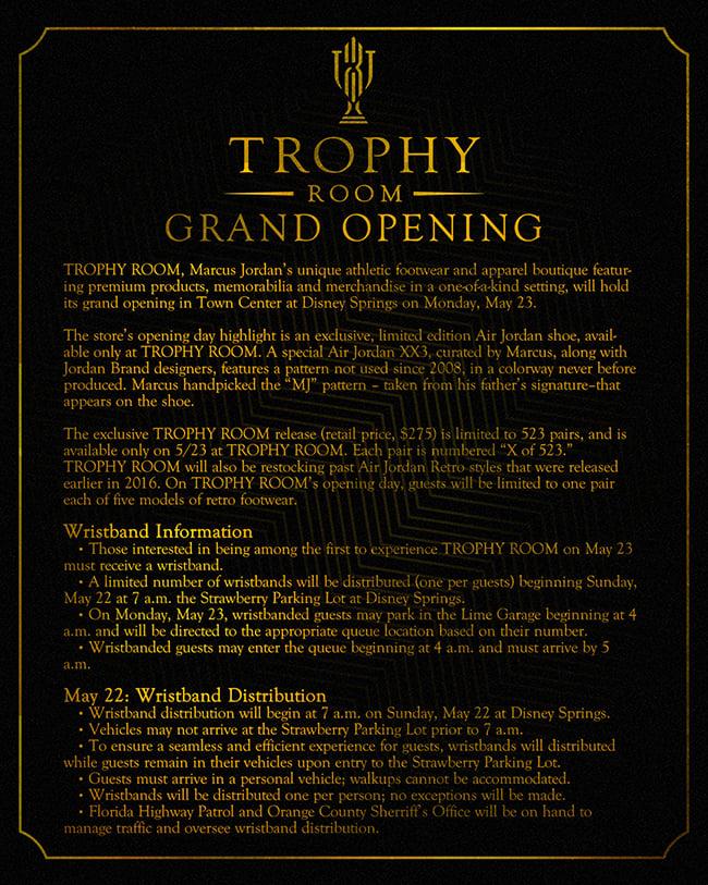 Trophy Room Air Jordan XX3 Grand Opening