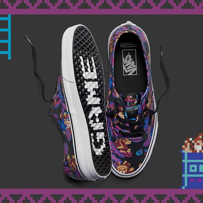 Vans Nintendo Release Date