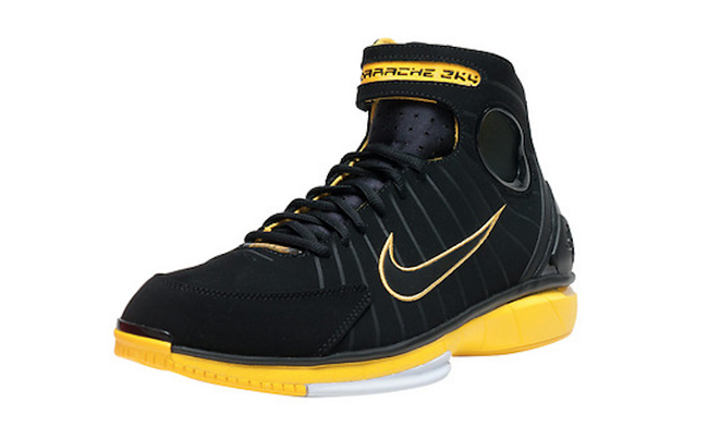 Varsity Maize Nike Huarache 2K4 Black