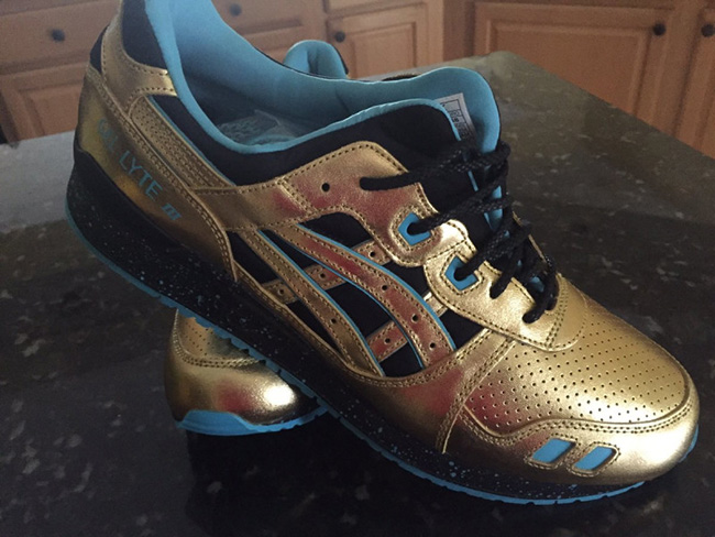 Wale Asics Villa Gel Lyte III Intercontinental Champion Release