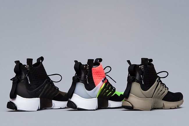 9a34b3f0af03 outlet ACRONYM x Nike Air Presto Mid Collection Release Date ...