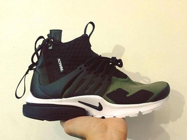 ACRONYM Nike Air Presto Olive