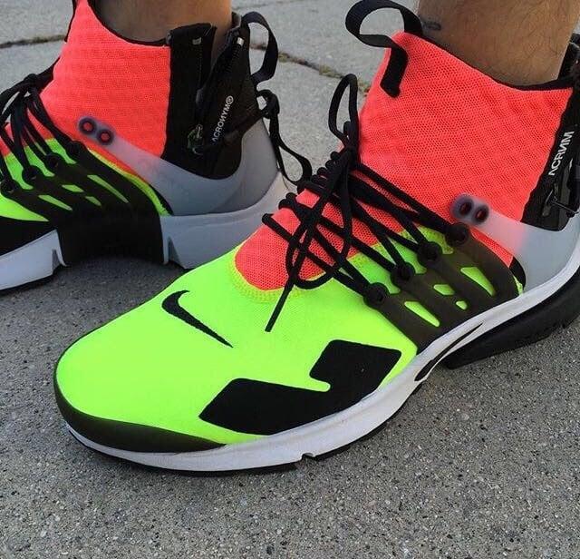 Nike Air Presto Acronym On Foot