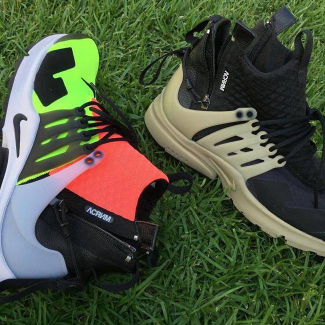 ACRONYM Nike Air Presto On Feet