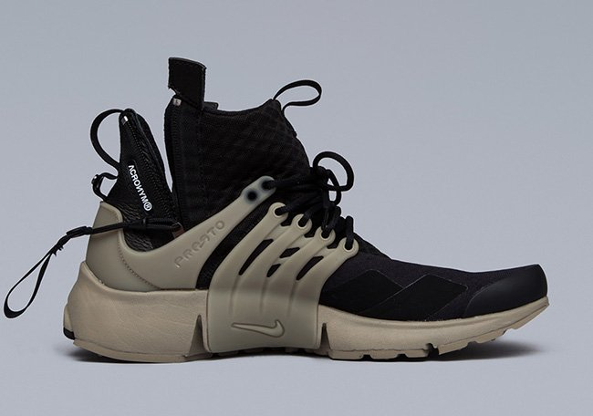 new style 28878 de2a6 outlet ACRONYM x Nike Air Presto Mid Collection Release Date