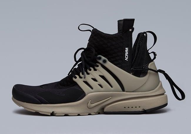 ACRONYM x Nike Air Presto Mid Black Bamboo
