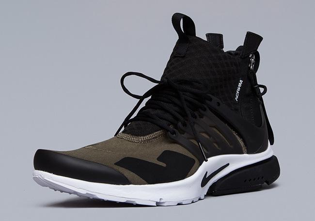 ACRONYM x Nike Air Presto Mid