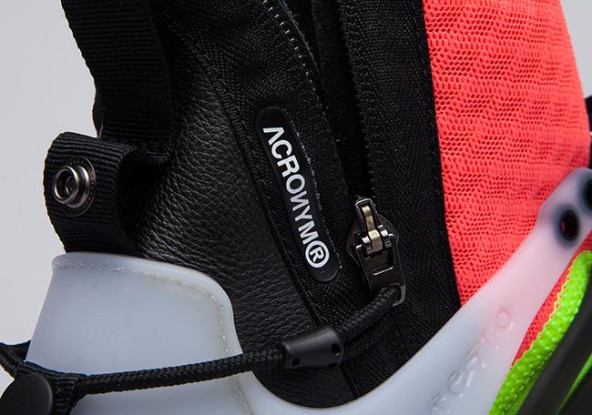 ACRONYM x Nike Air Presto Mid White Hot Lava Volt